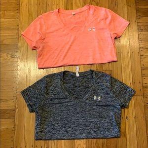 BUNDLE! Under Armour Workout T Shirts